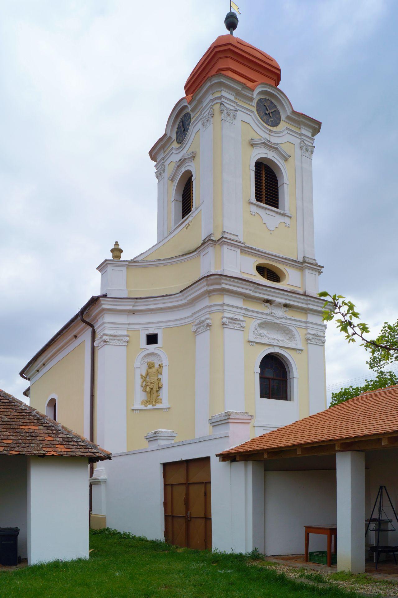 kostel sv. Rozálie